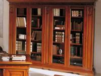 Библиотека со стеклом Montalcino