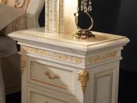 Тумба Montalcino  LQ (цвет белый с золотом)