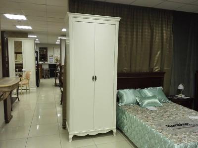 Шкаф 2х дверный белый Panamar