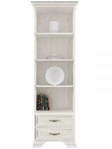 Шкаф открытый Tiffany вудлайн кремовый