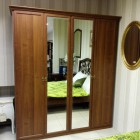 Шкаф Лия 4-х дверный с 2-я зеркалами