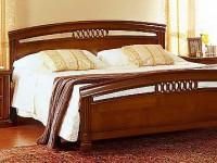 Кровать 160 Venezia с полукруглым изножьем