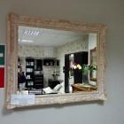 Зеркало Арт.6163 белое с золотом