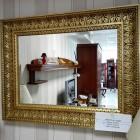 Зеркало Арт. CD2804 золото